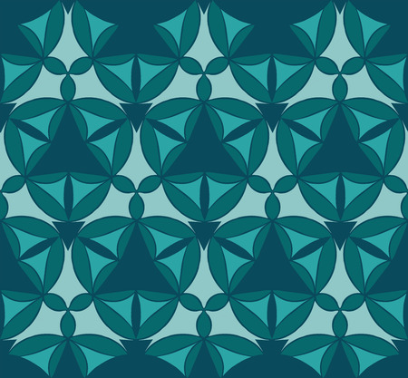 ottoman: Seamless pattern with mandala texture. Ottoman motifs Illustration