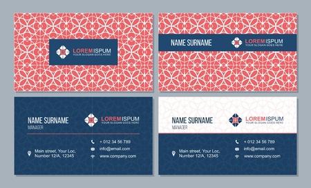 Business brochure design template. Vector flyer layout, with polygonal pattern.Magazine, poster design Ilustração Vetorial