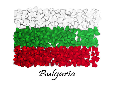 Love Bulgaria. Flag Heart Glossy. With love from Bulgaria. Made in Bulgaria.. Bulgaria national independence day.