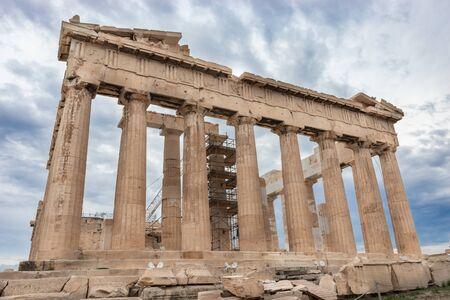 The Parthenon former temple on the Athenian Acropolis, Greece