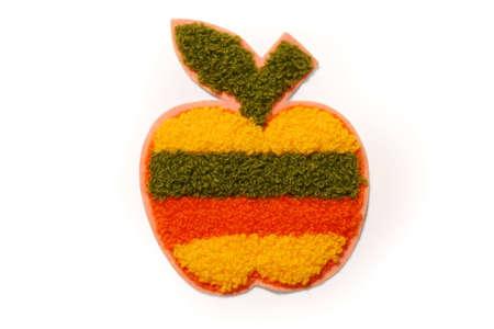 Knit apple Stok Fotoğraf - 700934