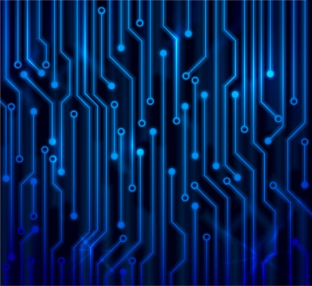 Abstract background circuit board   Vector