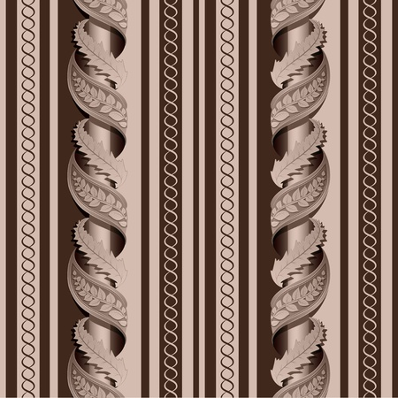 curve line: Seamless texture of the column Illustration