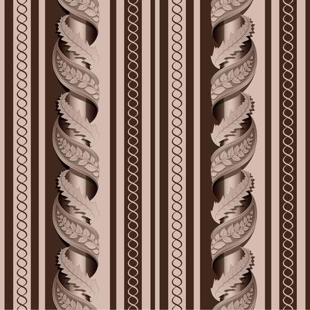 Seamless texture of the column Vector