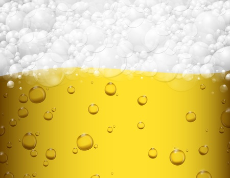 alcoholism: Background with beer and foam