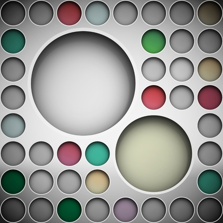 Background with circles for your text  Eps 10 Stock Vector - 13439444