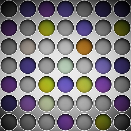 Background with colorful circles  Eps 10 Stock Vector - 13439429