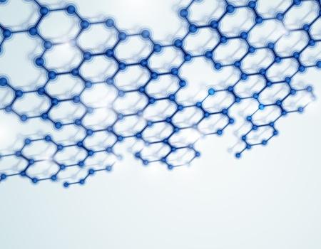 genetics: 3D pattern molecular background  Eps 10