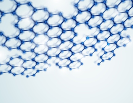genetica: Modello 3D Eps sfondo molecolari 10