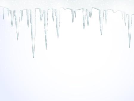 sopel lodu: TÅ'o z soplami wiszÄ…cymi