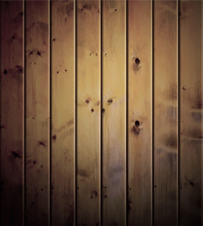 Realistic wood texture background  Eps 10 Stock Photo - 13814653