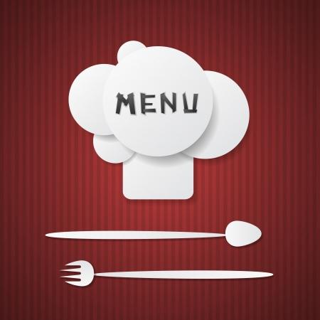 Pattern restaurant menu design  Eps 10 Stock Vector - 13926950