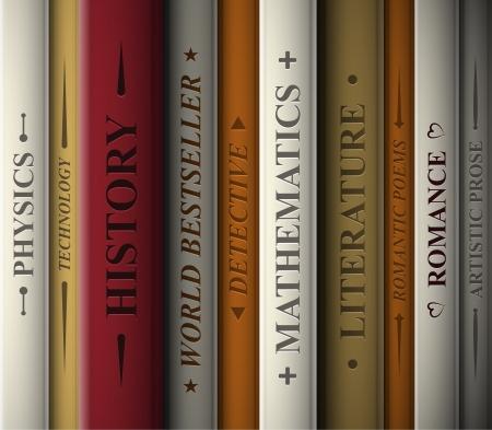 문학의: 다양한 문학 장르의 책