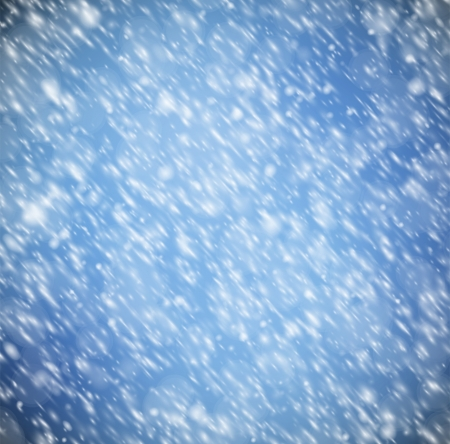 Natural background with snow  Vector