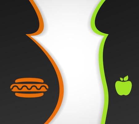 obesidad: Marco conceptual sobre el tema de la obesidad y la alimentaci�n saludable