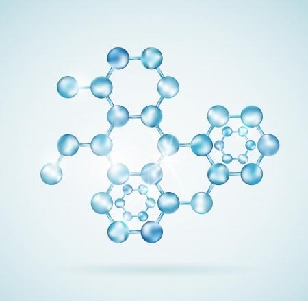 Icono de la estructura molecular