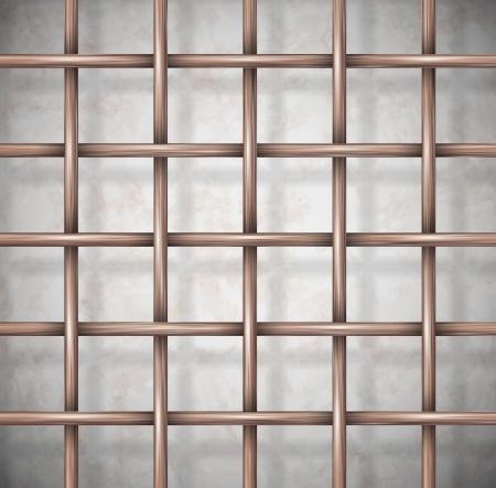 Sfondo la gabbia Eps 10