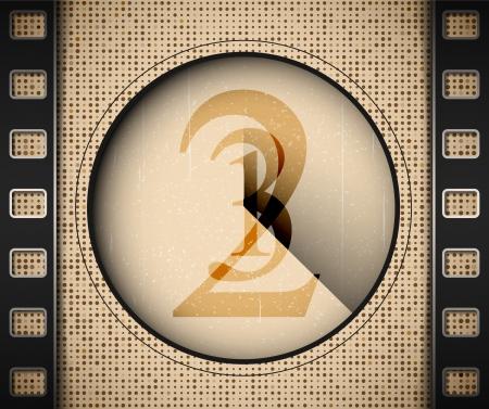 Start the film Stock Vector - 15284215