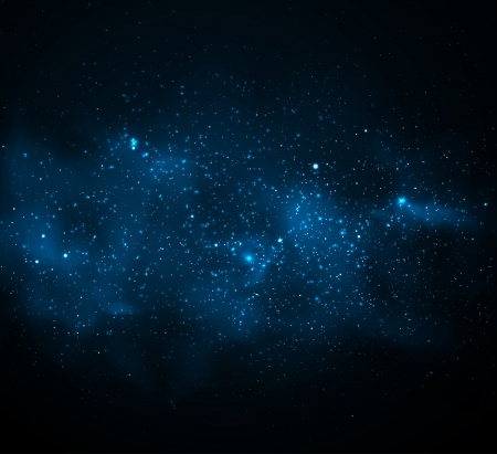 dark nebula: Background with Milky Way
