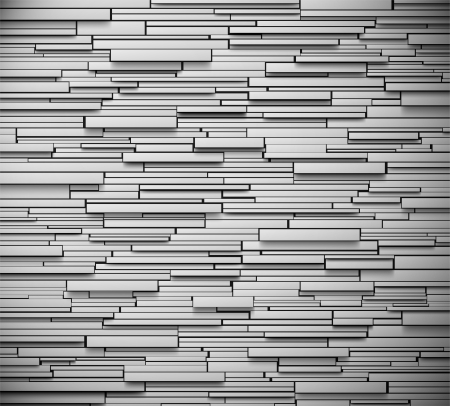 brick background: Gray wall background texture  Eps 10