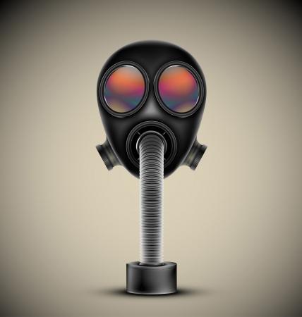 Gas mask, vector  Esp10 Stock Vector - 16913500