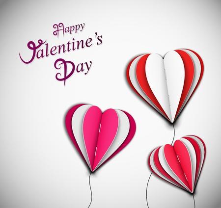 Pozadí šťastný Valentine s Day eps 10