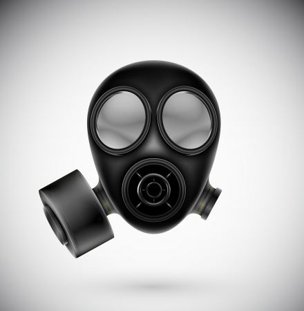 Isolated gas mask  Eps 10 Stock Vector - 16913493