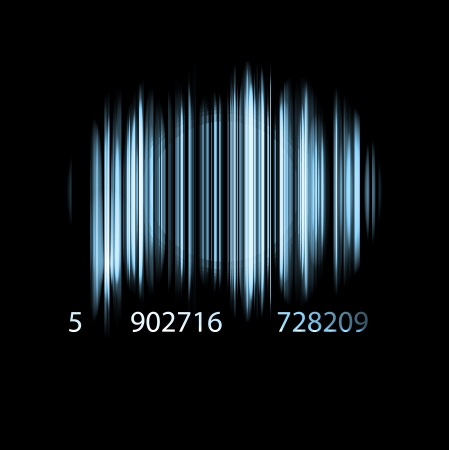 Abstract bar code Eps 10
