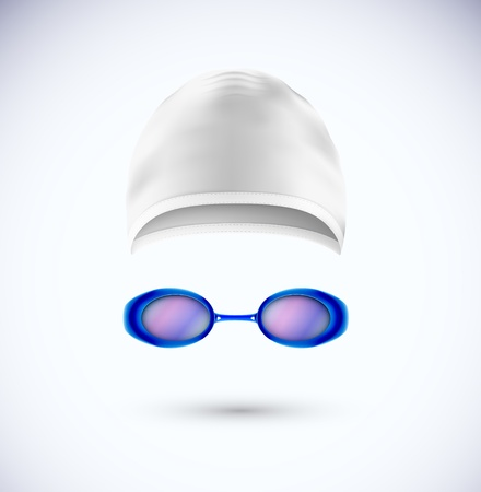 Příslušenství pro koupací čepice a brýle