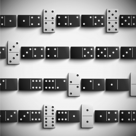 dominoes: Game domino background