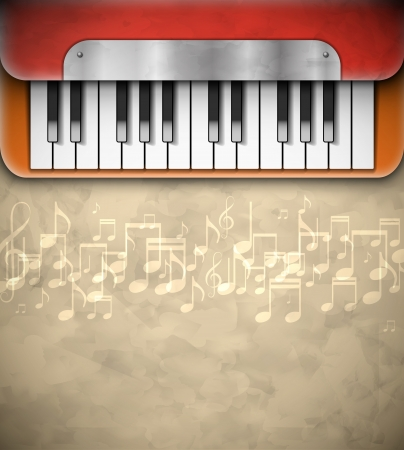 piano key: Background with piano