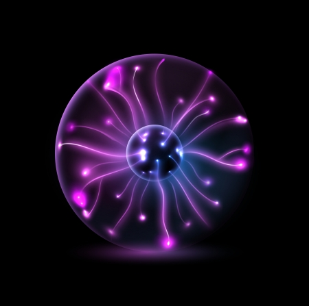 Abstract plasma sphere Vector