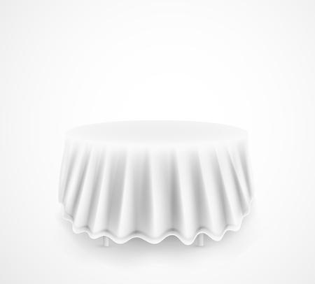 mesa de comedor: Mesa de comedor redonda. Eps 10