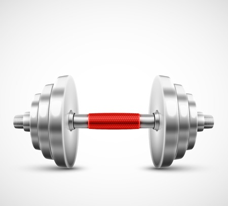 One isolated dumbbell