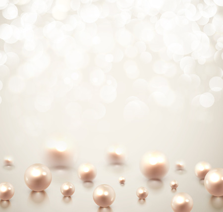 Background with pearls Zdjęcie Seryjne - 24149695