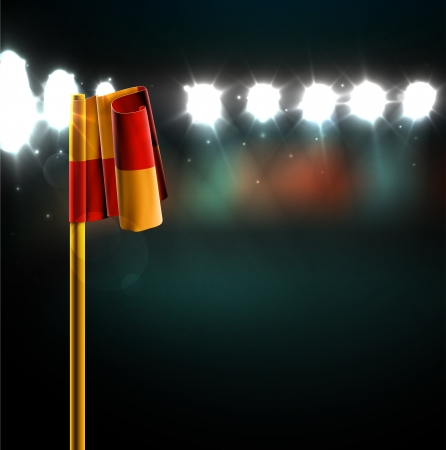Soccer match background, eps 10
