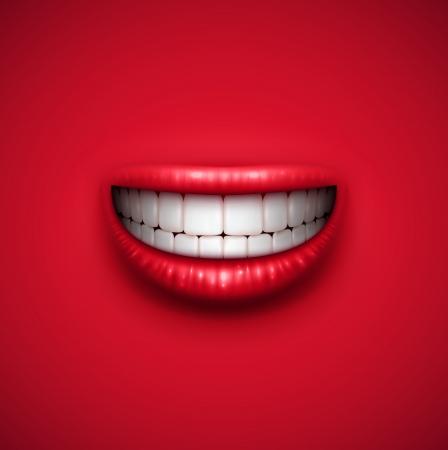 dientes sanos: Resumen de fondo sonrisa, eps 10