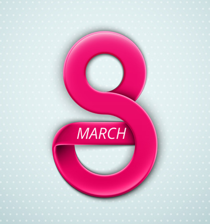 8 march: Womens Day, 8 March, eps 10
