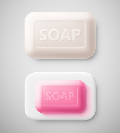 hygienic: Isolated hygienic soap, eps 10