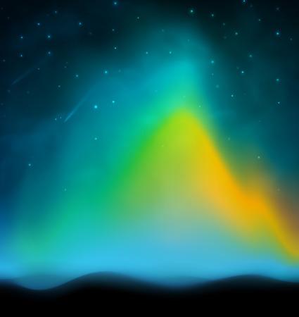aurora: Aurora abstract background