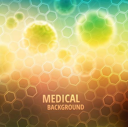 医療の抽象的な背景  イラスト・ベクター素材