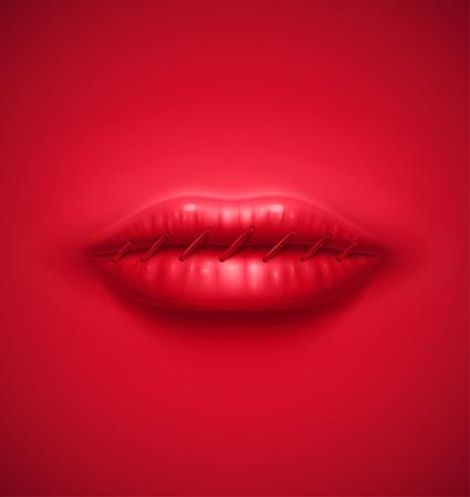 沈黙の抽象的な背景  イラスト・ベクター素材