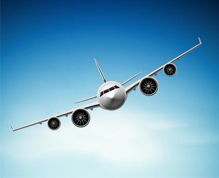 Passenger airplane in sky, epa 10