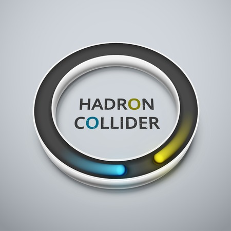 atomic center: Abstract hadron collider