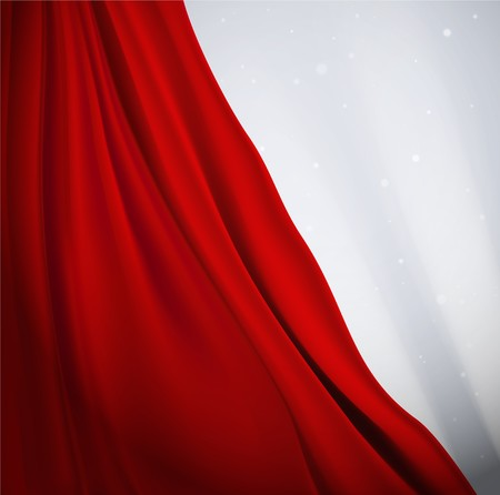 red curtain: Red curtain background