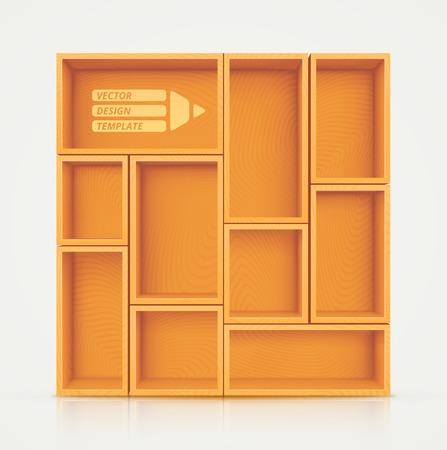 empty shelf: Shelves for Design