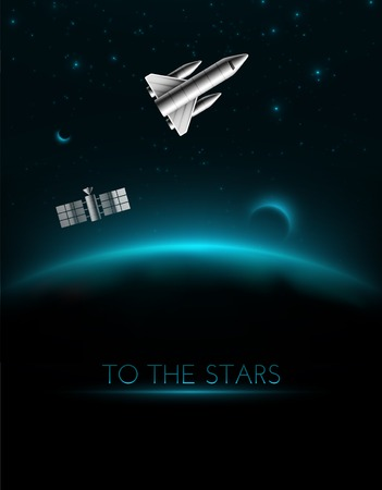 Space shuttle To The Stars