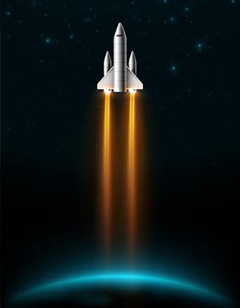 Lancering van de raket