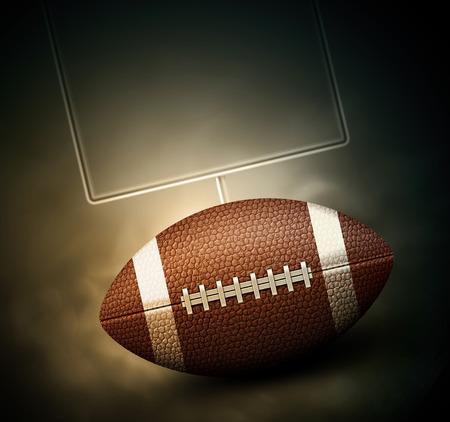 American-Football-Hintergrund eps 10? Standard-Bild - 33033686