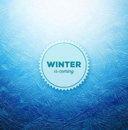 氷の背景、冬が来ている、eps 10